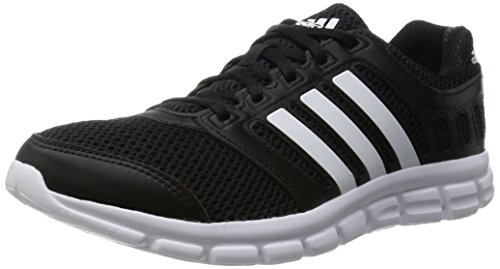 Adidas Breeze 101 2 M Scarpe da corsa, Uomo, Nero (Cblack/Ftwwht/Cblack), 43 1/3