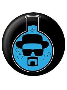 Badge petit format Breaking Bad : Blue Meth Sous Licence Officielle