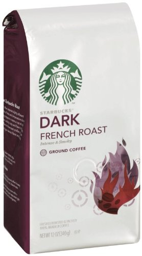 Starbucks Dark French Roast, Ground Coffee