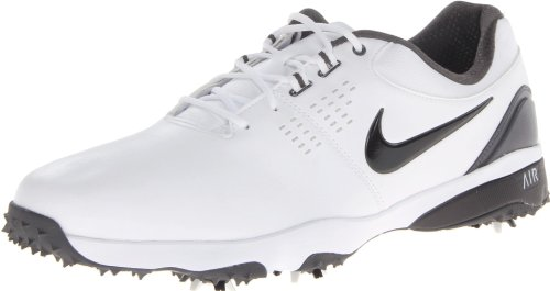 Nike Golf Men's Nike Air Rival III Golf Shoe,White/Iron Ore//Black,9.5 M US