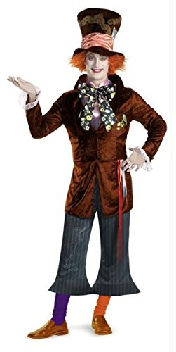 Prestige Mad Hatter Costume - Medium - Chest Size 38-40