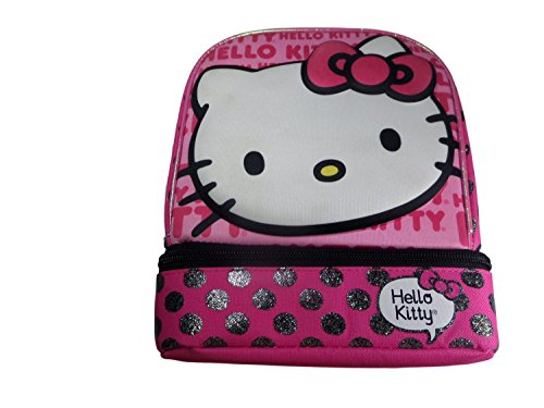 Fast Forward C6COD03-T Hello Kitty Dual Compartment Lunch Bag, Pink