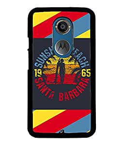 Fuson Meaningful Text Back Case Cover for MOTOROLA MOTO X2 - D3918