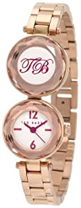 Ted Baker Women's TE4064 Quality Time Custom Dual Time Double Case Watch