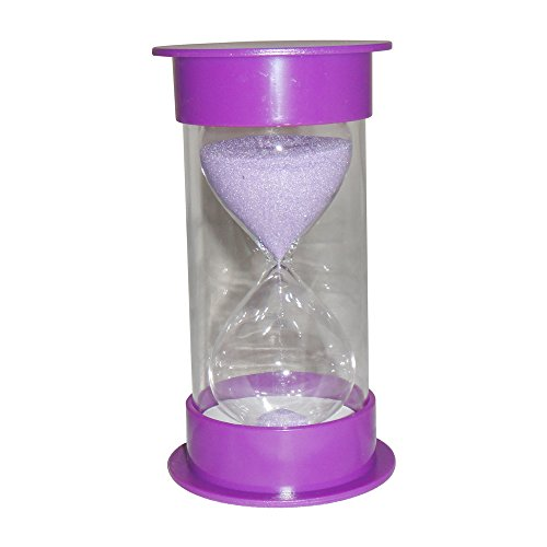 ColorMax Hour glass 30 Minutes Sand Timer-Purple