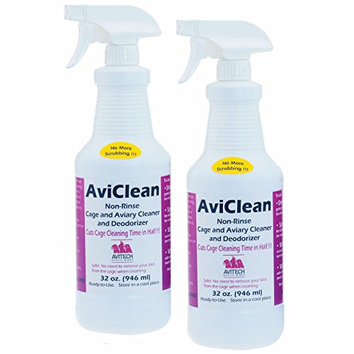 avitech-non-rinse-cage-aviary-cleaner-deodorizer-time-saver-32oz-by-avitech