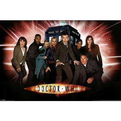 (24X36) Doctor Who (Group, Children Of Time) Tv Poster Print