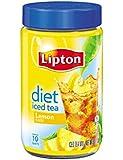 Lipton Iced Tea Mix, Diet Lemon 10 qt (pack of 4)