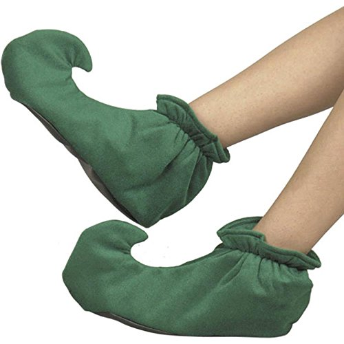 Adult Christmas Elf Costume Shoes (Size:Small)