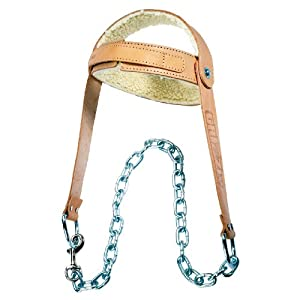 Grizzly Fitness Leather Head Harness