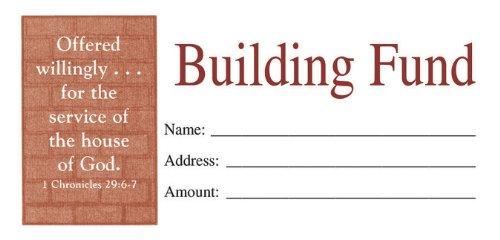 Building Fund Envelope 100 (Building Fund Envelopes compare prices)
