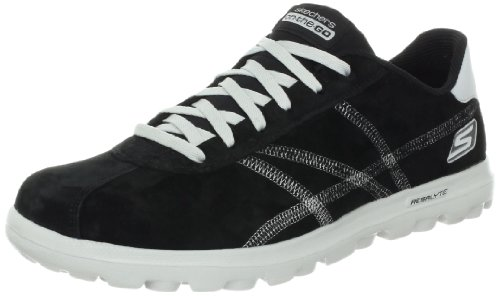 Skechers on-the-GOÂ Playa Trainers Mens Black (BKGY) Size:43 EU/8.5 UK