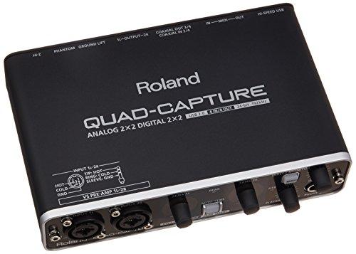 Roland ローランド オーディオインターフェイス QUAD-CAPTUR...