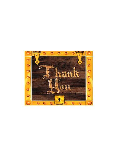 Pirate Party Thank You Notes (8-pack) - 1
