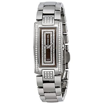 Raymond Weil Shine Diamond Coffee Dial Stainless Steel with Brown Strap Ladies Watch 1500-ST2-70581