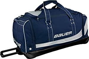 Bauer Premium Senior Wheeled Hockey Goalie Bag - Medium by Bauer
