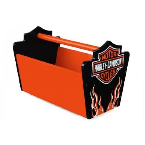 Harley Davidson Flames Toy Caddy   KidKraft Furniture   10131