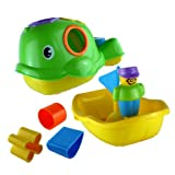 Shape Sorter Bath Toy Willie The Whale Push Along Bath Toy Yellow