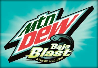 Mountain Dew Baja Blast 12 Pack Of 12 Ounce Cans (Baja Blast)