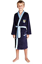 Manchester City F.C Dressing Gown with Stay New™