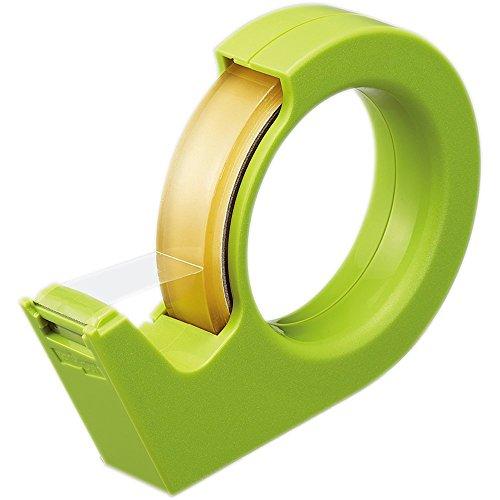 コクヨ テープカッター カルカット ハンディ (緑) T-SM200G 【10個セット】