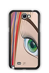 YuBingo Look at my Eye Mobile Case Back Cover for Samsung Galaxy Note 2