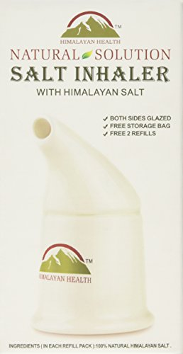 Himalayan Pink Salt Inhaler - All-Natural Respiratory Aid
