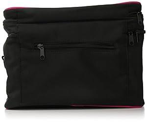 City Lights Microfiber Cosmetic Bag, Black