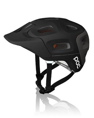 POC Trabec Helmet, Black/Grey, X-Large-XX-Large/59-62 from POC
