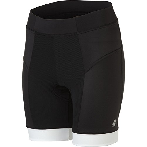 Hincapie Sportswear Power Shorts - Women's Black/White, L (Cycling Clothes Hincapie compare prices)