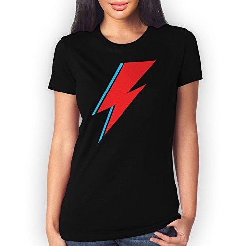 David Bowie Flash Medium Donne T-Shirt