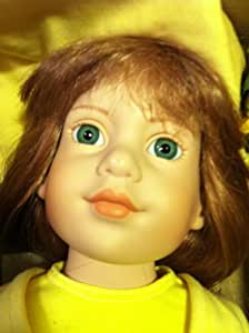 "Magic Attic 18"" Doll Megan Doll Brush Key Necklace"