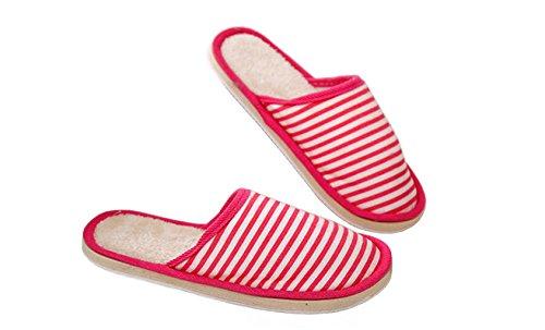 sodacoda-unisex-mule-house-slippers-cozy-faux-fur-lining-pink-40-42
