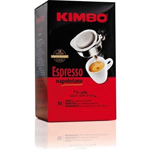 Buy Kimbo Espresso Pods Cialde Espresso - 18 in a Box by Cafe do Brasil - Cafe do Brasil