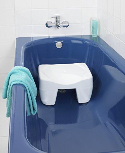 Wenko 7336100 sgabello per vasca da bagno secura antiscivolo portata 150 kg materiale - Accessori bagno plexiglass amazon ...
