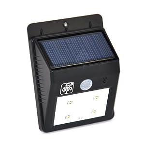 TSSS ® Wireless LED Solar Powerd Security Motion Sensor Light, Wall/Garden Lamp