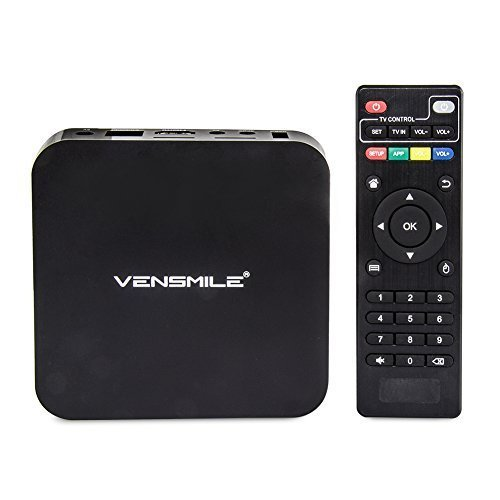 VENSMILE MXQ Android TV Box Amlogic S805 Quad Core 1GB RAM 8GB ROM Intelligente Media Player XBMC Kodi H.265 1080p HDMI incassato WiFi