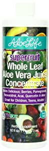 Aloe Life Nutritional Supplements, Superfruit Aloe Vera, 16 Ounce
