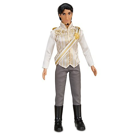 "Disney Store Tangled Ever After 12"" Flynn Rider Wedding Groom Doll"