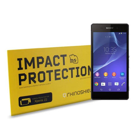 Rhinoshield High Impact-Resistant Screen Protector for Sony Xperia Z2 (Rhino Shield Bumper Iphone 5s compare prices)