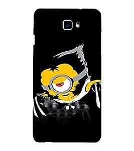 EPICCASE Abstarct Black Minion Mobile Back Case Cover For Coolpad Dazen 1 (Designer Case)