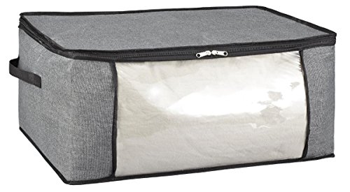 Kennedy Home Collection Jumbo Blanket Bag -Grey