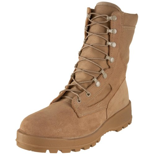 Wellco Men's Temperate Weather Waterproof Combat Boot