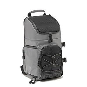 Tenba 632-632 Shootout Medium Convertible Photo Sling Bag (Silver/Black)