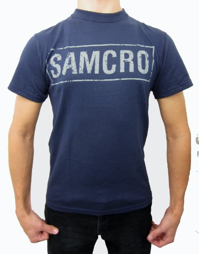 Sons of Anarchy Samcro Cracked T-shirt XXX-Large