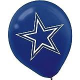 Amscan Dallas Cowboys Latex Balloons