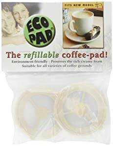 Ecopad, the Refillable Coffee Filter for the Classic Senseo (pack of 2)
