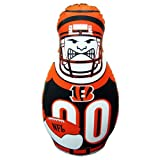 41kJDi%2B2P4L. SL160  Cincinnati Bengals 40 Inflatable Tackle Buddy Punching Bag