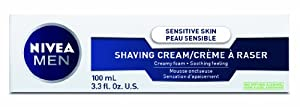 NIVEA MEN Sensitive Shaving Cream