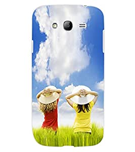 ColourCraft Lovely Friends Design Back Case Cover for SAMSUNG GALAXY GRAND Z I9082Z